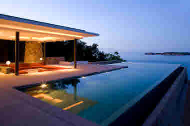 Thailand hotel evening